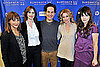 Paul Rudd, Zooey Deschanel, Rashida Jones, Elizabeth Banks, Emily Mortimer at My Idiot Brother Sundance Premiere