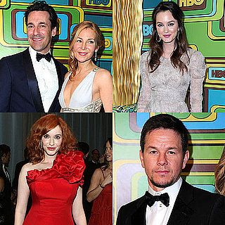 Photos des soirees HBO et AMC avec Jon Hamm, Christina Hendricks, Mark Wahlberg, Leighton Meester