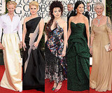 Best Dressed British Actress at 2011 Golden Globe Awards