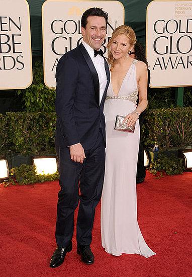 Jon Hamm and Jennifer Westfeldt(2011 Golden Globes)