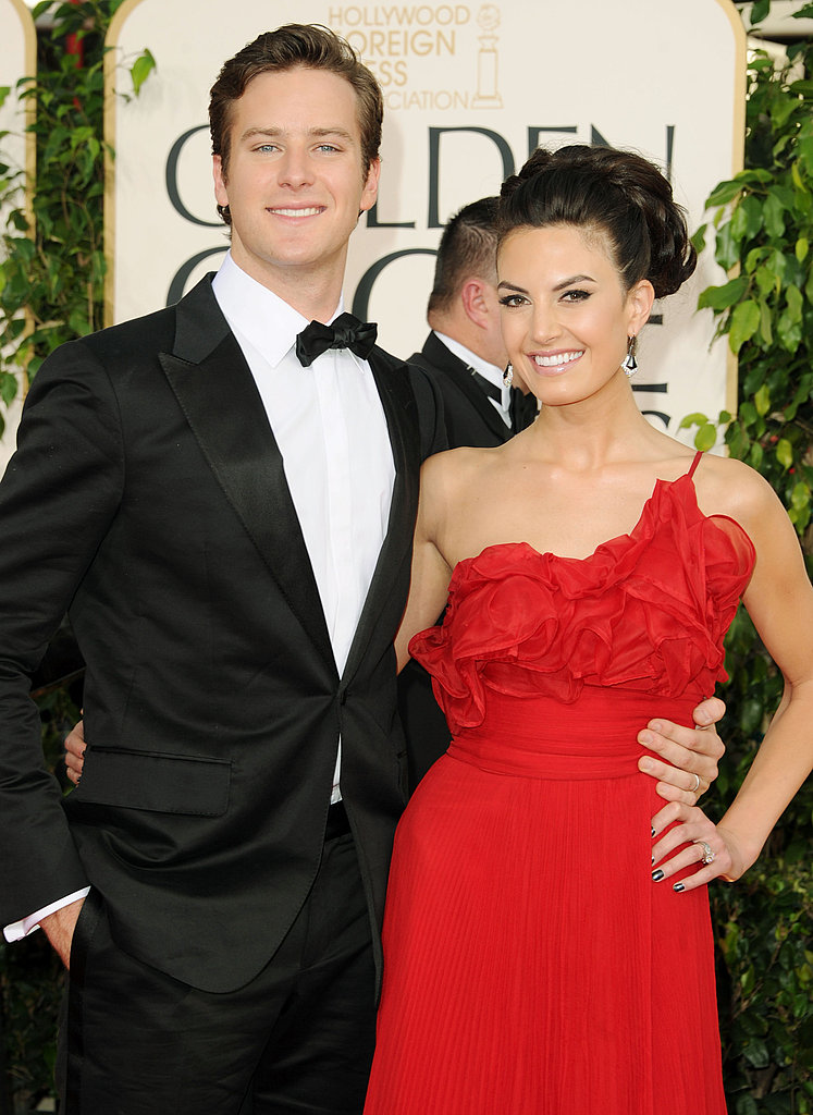 Famous Couples on Golden Globes Red Carpet With Angelina ...