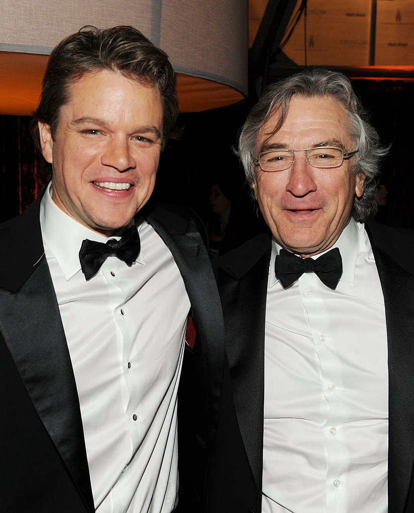 Matt Damon and Robert De Niro