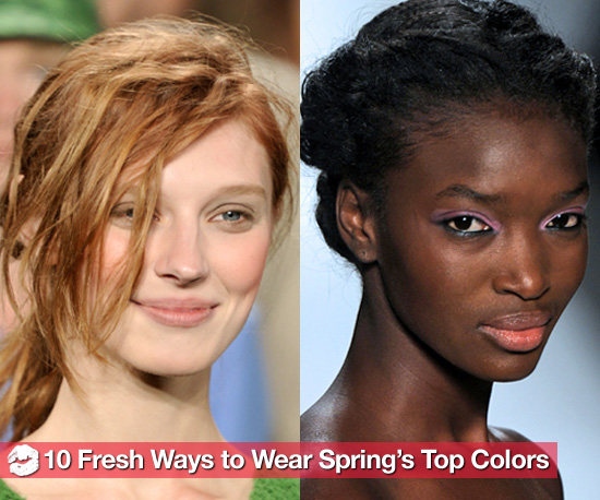 10 Gorgeous Ways to Wear 2011's Hottest Hues