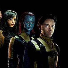 Photos From X-Men: First Class Featuring James McAvoy, January Jones, Michael Fassbender, Zoe Kravitz, Rose Byrne