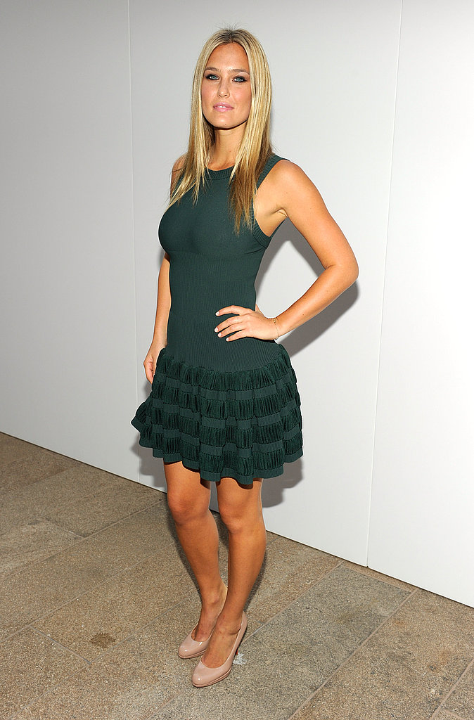 Bar Refaeli rocked it at a Fashion's Night Out event in 2010.
