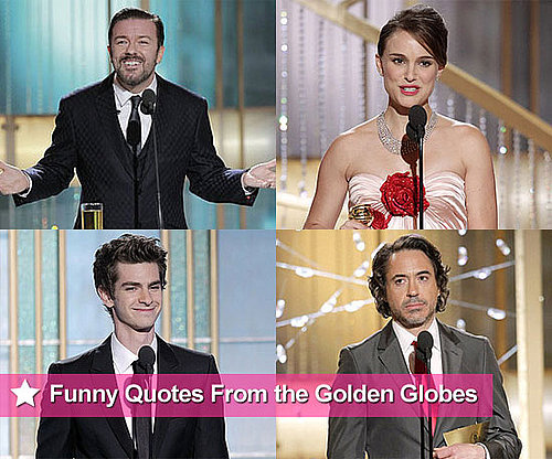 Best Quotes From 2011 Golden Globe Awards Show