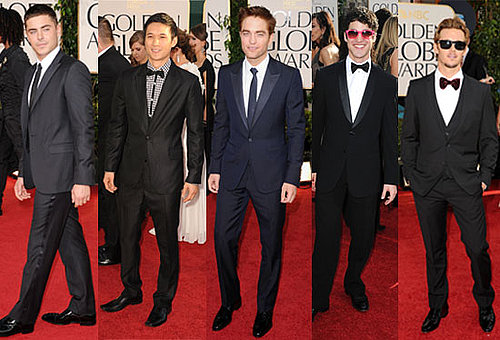 Best dressed boys from the 2011 Golden Globe Awards,