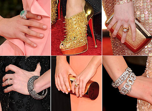 2011 Golden Globes: Accesorises, Bags, Shoes, Jewels From The Celebs!