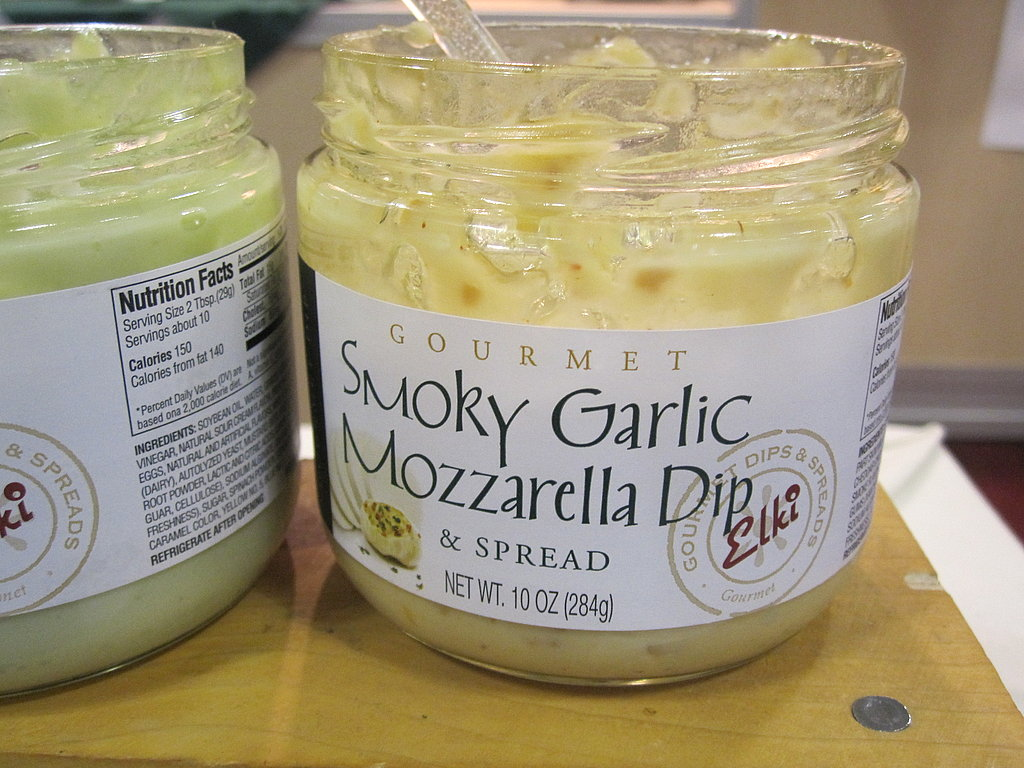 Smoky Garlic Mozzarella Dip