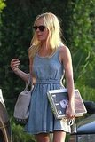 Kate Bosworth Dresses Down in Denim Following a Globes Date Night With Alexander