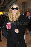 Pictures of Heidi Klum Touching Down at Heathrow
