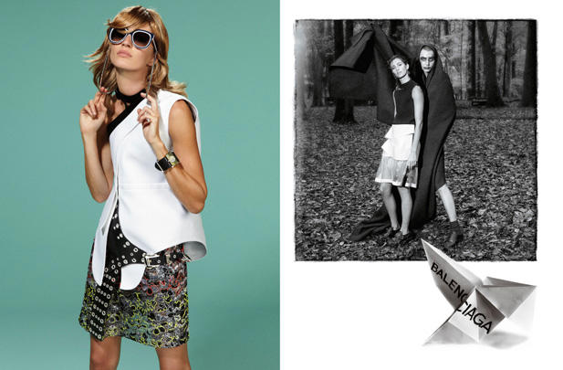 Balenciaga's Spring '11 Campaign in Full View
