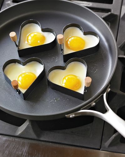Heart-Shaped Egg Fry Rings