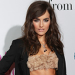 Photos of Camilla Belle in a Crop Top with Tux Suit