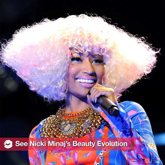 See Nicki Minaj's Wild Beauty Evolution