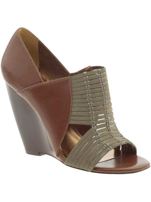 Charles By Charles David Flit Wedge ($128)