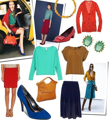 Fab Shows You How to Wear Color to Work