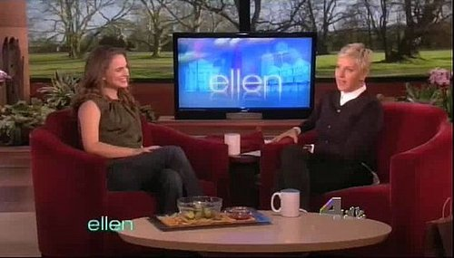 Ellen Predicts the Gender of Natalie Portman's Baby