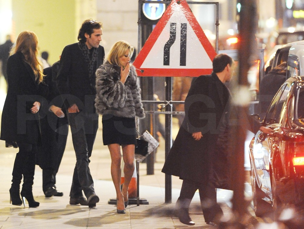 Kate Moss Does Dinner as Jamie Hince Opens Up About How She Inspires Him