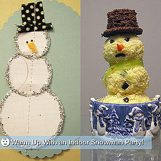 How to Throw an Indoor Snowman Party