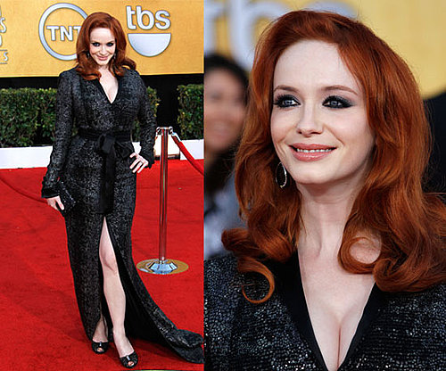 Christina Hendricks in L'Wren Scott at 2011 SAG Awards