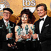 Colin Firth and The King&#039;s Speech Cast 2011 Screen Actor&#039;s Guild Award Press Room Quotes 2011-01-30 20:41:40
