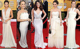 White out! Red Carpet Trends From the 2011 SAG Awards