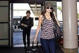 Pictures of The Vampire Diaries Stars Nina Dobrev and Ian Somerhalder at LAX