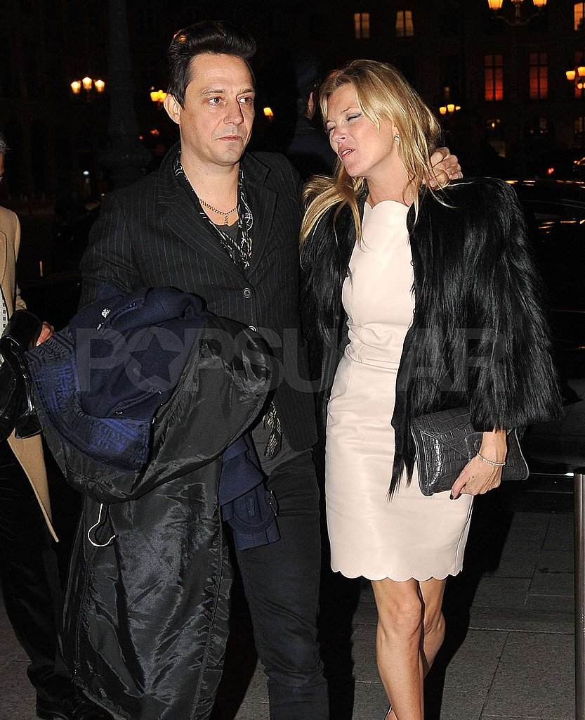 Kate Moss and Jamie Hince Look at Lingerie on Another Couples Trip to Paris