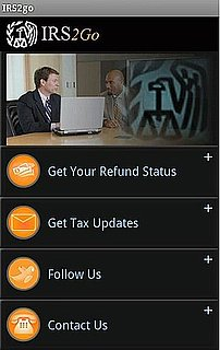 IRS iPhone App