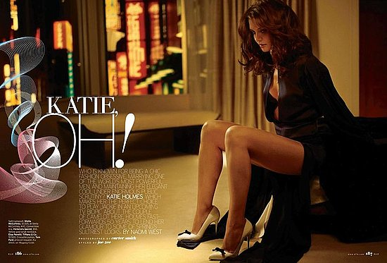 Tom Who? Katie Holmes Sexes It Up For US Elle