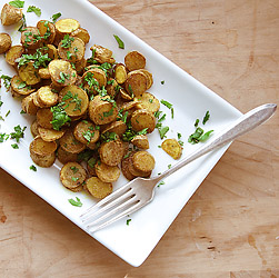 Curried Hashbrowns