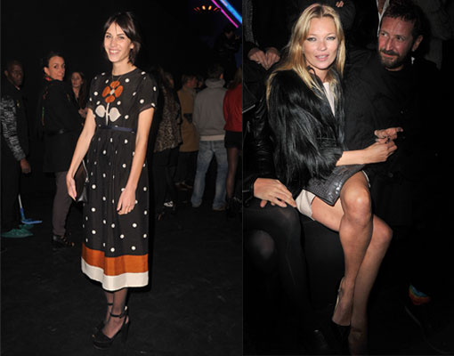 Kate Moss, Alexa Chung and Nicole Trunfio: See the fashion stars for Etam's Underwear Show!