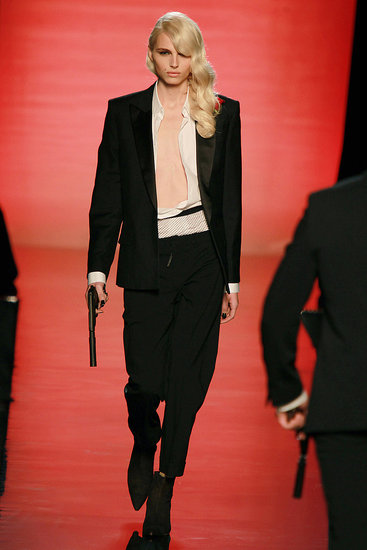 Andrej Pejic, Jean Paul Gaultier men's Fall 2011