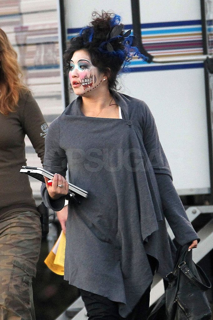 Lea, Dianna, and the Glee Cast Act Ghoulish For a Big Upcoming Episode