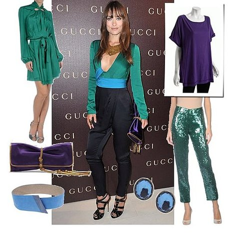 Olivia Wilde in Gucci Jumpsuit