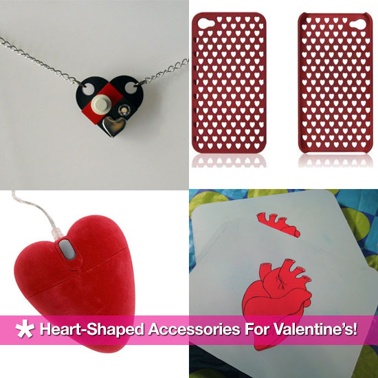 Heart-Shaped Accessories For Valentine's Day!