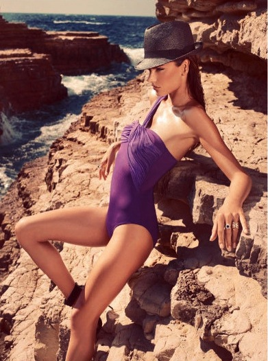 Alessandra's Koton Beachwear Ads Make Us Want to Find a Beach, Stat!