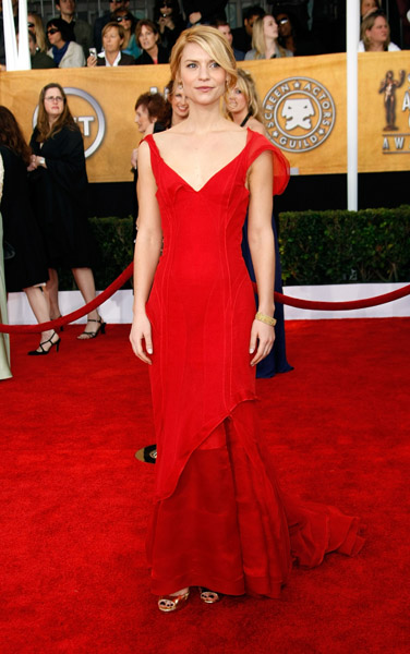 Claire Danes went bold in red in '09.
