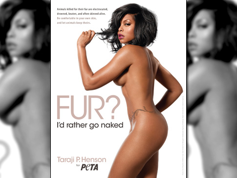 Taraji P. Henson Would Rather Go Naked