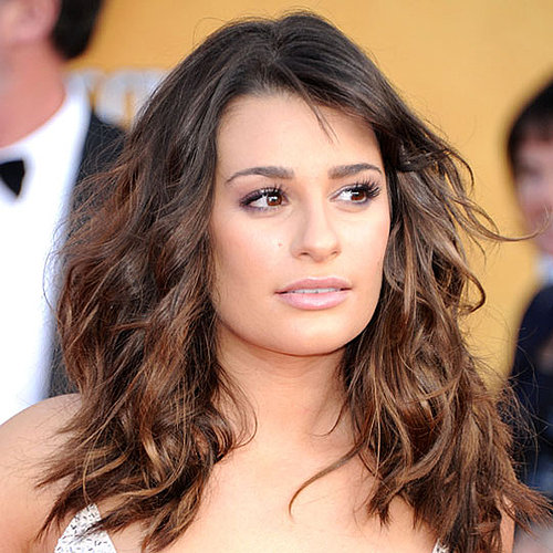 How to Get Lea Michele's Wavy SAG Awards Hair