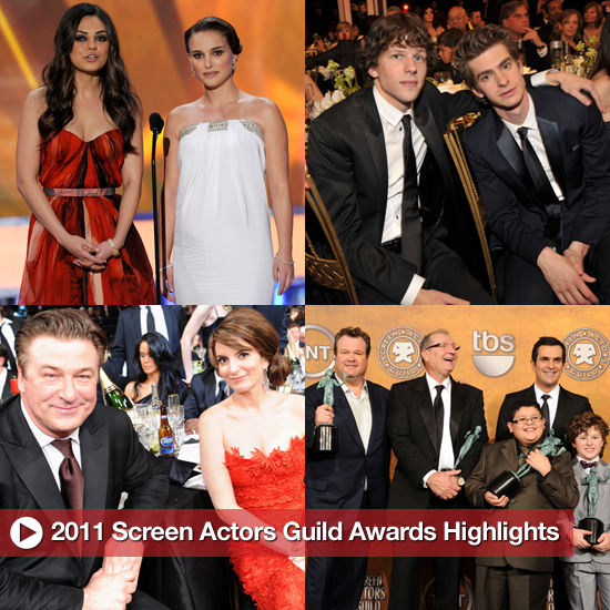From the Carpet to Cocktails: The 2011 Screen Actors Guild Awards