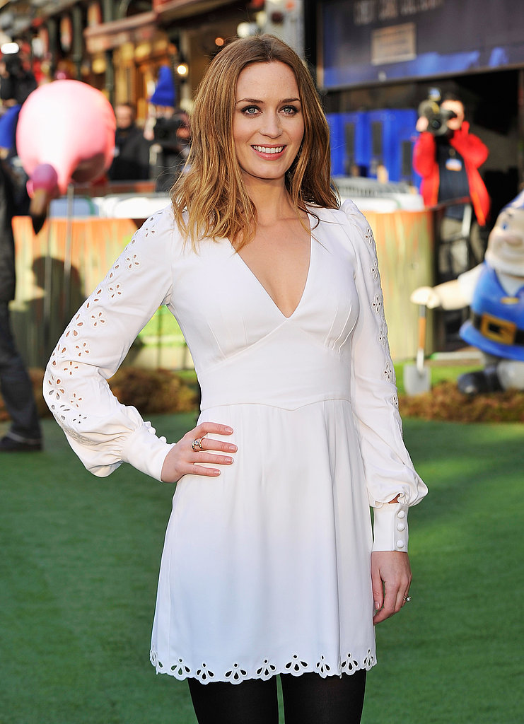 Emily Blunt Lightens Up the London Premiere of Gnomeo & Juliet