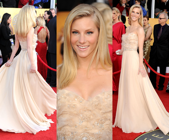 SAG Awards Red Carpet Highlight: Heather Morris Gets Seriously Glam