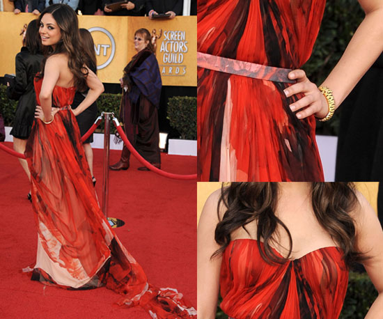 Mila Kunis at 2011 Screen Actors Guild Awards