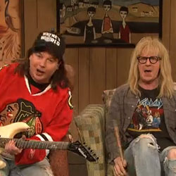 Video of Wayne's World Oscar Skit