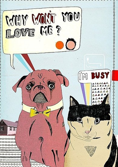 Why Won't You Love Me Greeting Card