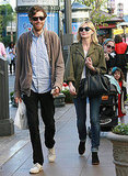 Kirsten Dunst and Her Boyfriend Have an Apple Kind of Day