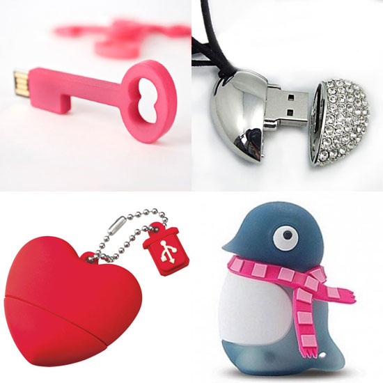 5 Adorkable USB Flash Drives For Valentine Gifting