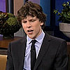 Jesse Eisenberg Talks About Award Season on The Tonight Show With Jay Leno